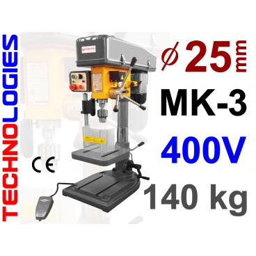 GWINCIARKO WIERTARKA WIERTARKO GWINCIARKA MK2 16MM (SŁUPOWA / KOLUMNOWA) - 400V