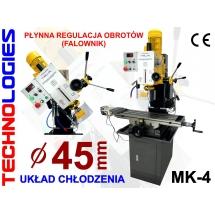 WIERTARKO-FREZARKA FREZARKO-WIERTARKA GWINCIARKA fi45/80mm MK4 - 400V