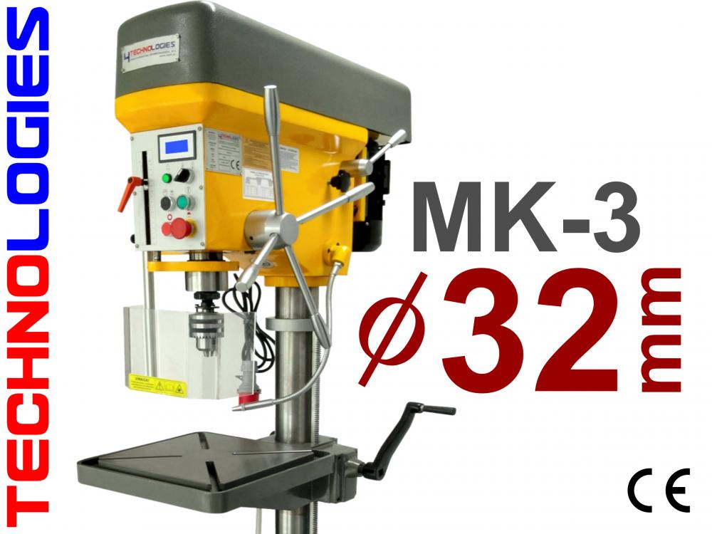 GWINCIARKO WIERTARKA WIERTARKO GWINCIARKA 32mm / MK-3 - NAPIĘCIE: 400V
