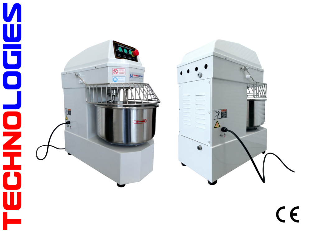 SPIRAL dough MIXER 50 Liters