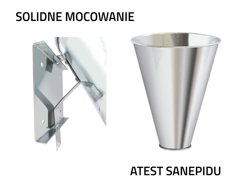 LEJEK UBOJOWY DROBIU ŚREDNI M dłg. 28cm fi-8/22cm