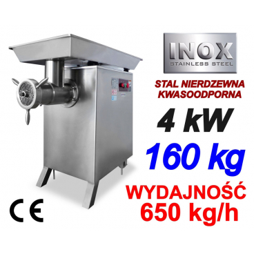 WILK 42 MASZYNA DO MIELENIA MIĘSA 650kg/h 4kW