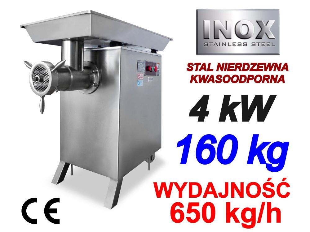 WILK 42 MASZYNKA DO MIELENIA MIĘSA 650kg/h 4kW