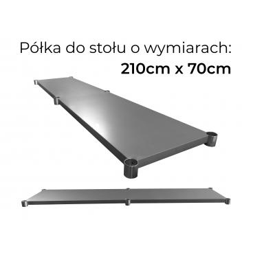 Półka do stołu o wymiarach 60cm x 60cm