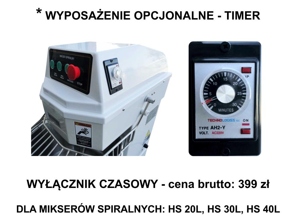 WYŁĄCZNIK CZASOWY - TIMER DO MIKSERA SPIRALNEGO TYP (HS20 / HS30 / HS40)