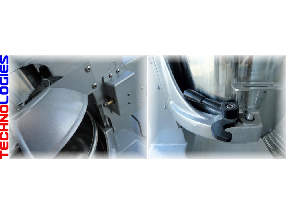 PLANETARY DOUGH MIXER 30 LITERS / 12 KG DOUGH - HOBART DESIGN 400V + TIMER!!!